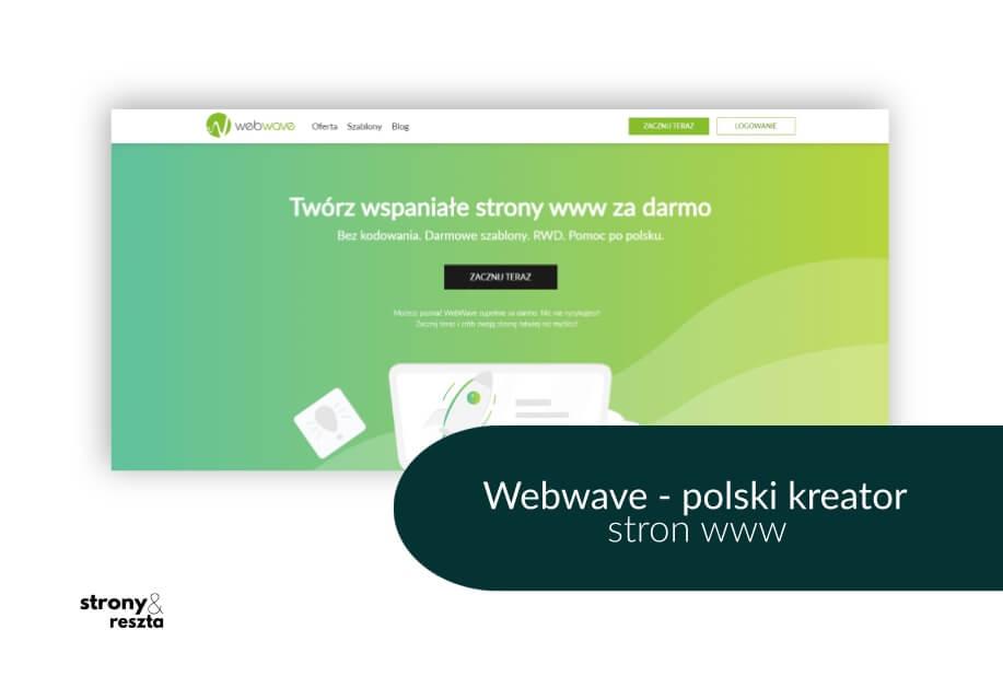 Webwave - polski kreator stron www